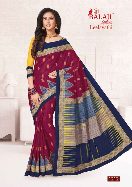 Balaji Leelavati cotton sarees wholesale supplier