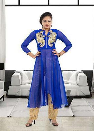 Aarohi Georgette Designer Kurtis wholesale manufacturer