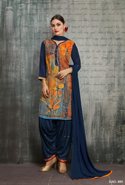 Royal by patiyala vol 4  kajree readymade punjabi suits wholesalers in india