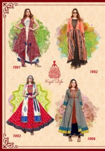 kajal style lakme vol 1 Designer long kurtis wholesaler Manufacturer