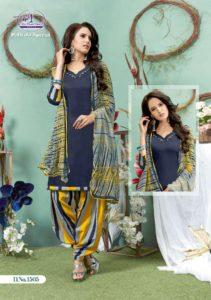 Patiyala special vol 15 Miss world Cotton print Dress materials wholesaler