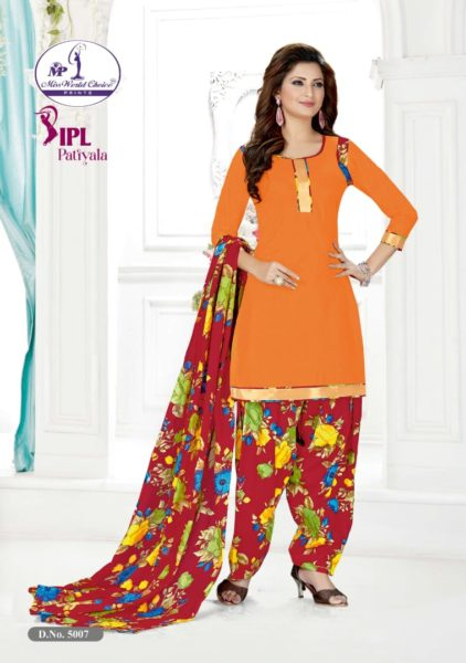 Patiyala vol 5 by Miss world printed cotton Salwar suits wholesaler
