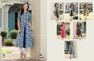 100 miles Beyond Flair Kurtis wholesale manufacturer