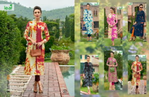 100 miles Leaf Rayon print Kurtis wholesale supplier