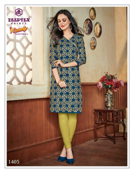 Deeptex I candy vol 14 readymade  Kurtis wholesalers