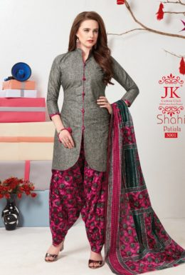 JK Shahi Patiyala Vol 3 Cotton Printed Dress Materials wholesaler