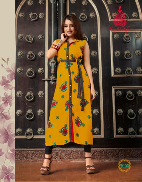 Kajal Fashion Eternal Vol 2 Kurtis Wholesale Manufacturer