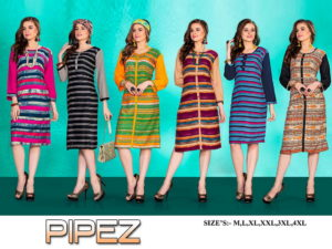 Pipez Low range Reyon Kurtis wholesaler