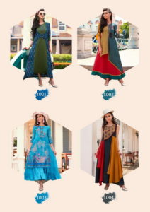 Sawan Raftaar vol 1 Fancy Designer Kurtis catalog wholesaler