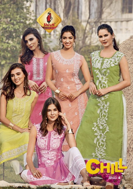 Shruti Chill vol 4 Linen Kurtis wholesaler