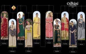 Shruti Odhani vol 9 Designer Gown Kurtis with Duppatta wholesaler