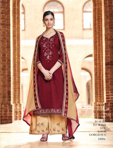Vastra by Kessi Ladies Dress Materials wholesalers