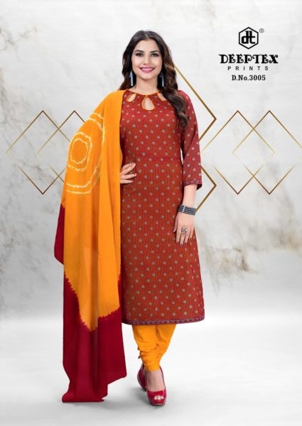 Deeptex Tradition Vol 3 Cotton Print Dress Materials wholesalers