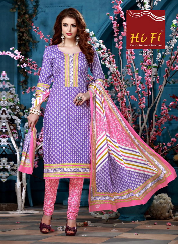 HiFi Summer Special Cotton Dress Materials Wholesalers