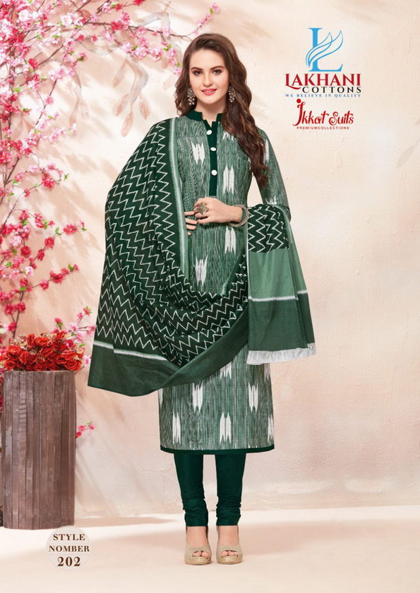 Ikkat vol 2 cotton dress materials wholesalers