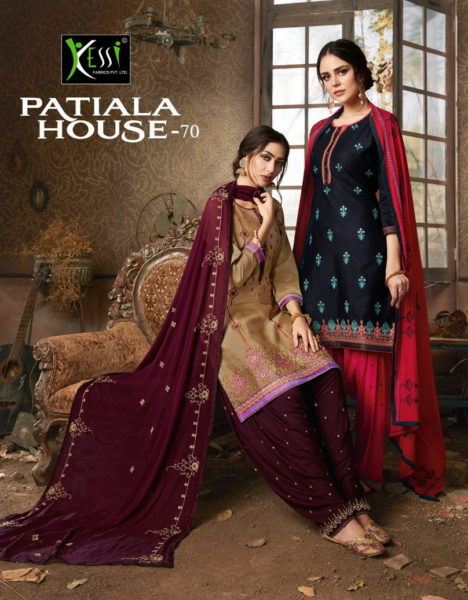 Kessi Patiala House vol 70 punjabi Patiyala suits wholesalers