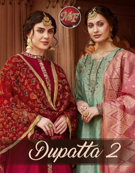 MF Dupatta vol 2 Kurtis with Dupatta Wholesalers