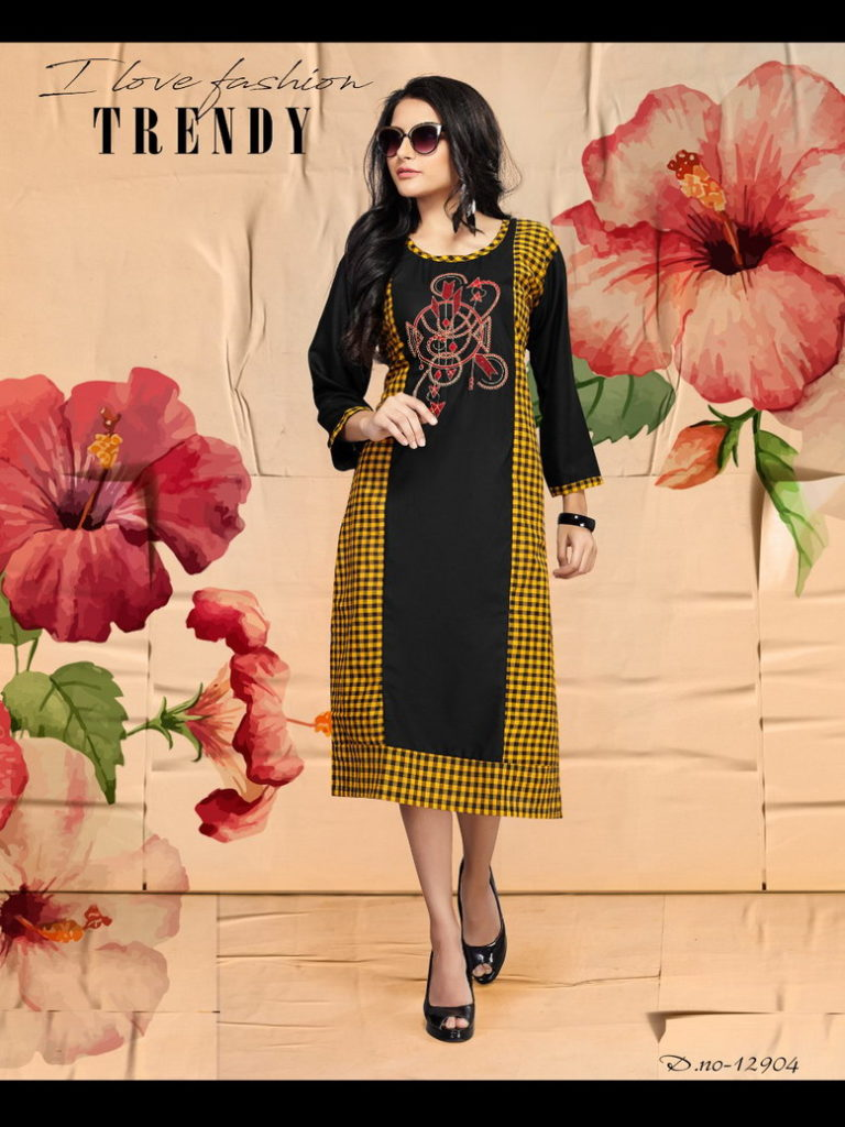 Sakhi Pecker Formal Kurtis Manufacturer
