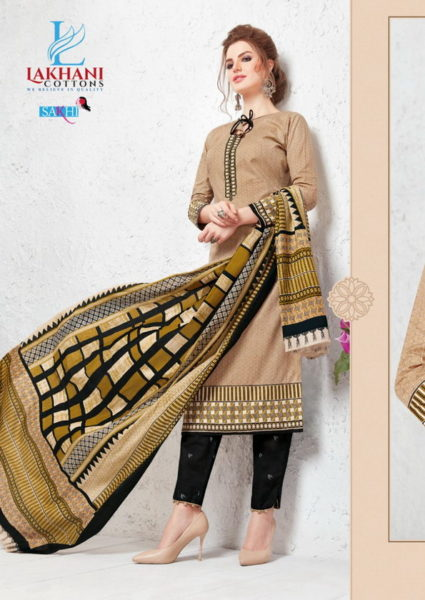Sakhi vol 29 cotton unstitched churidar materials wholesalers