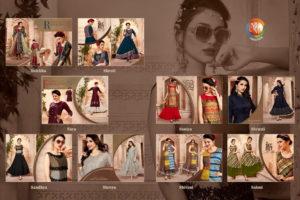 Sunehere Pal vol 14 Designer Gown Kurtis wholesalers