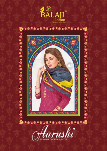 Balaji Arushi Cotton Print Salwar Kameez Wholesaler