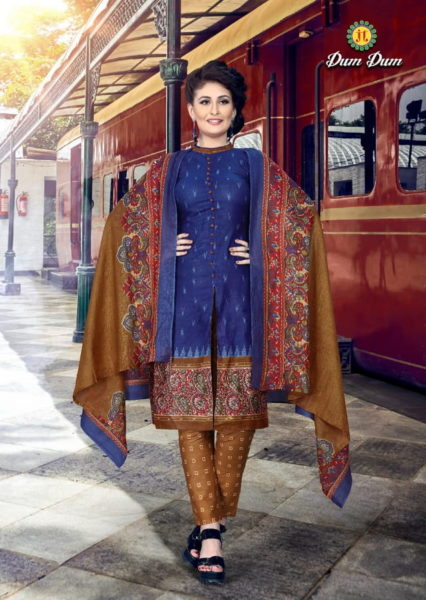 Dum Dum vol 40 Cotton print Salwar Kameez wholesalers