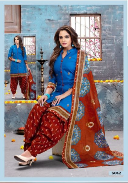 Dhamal vol 5 Printed Cotton Salwar Suits wholesaler