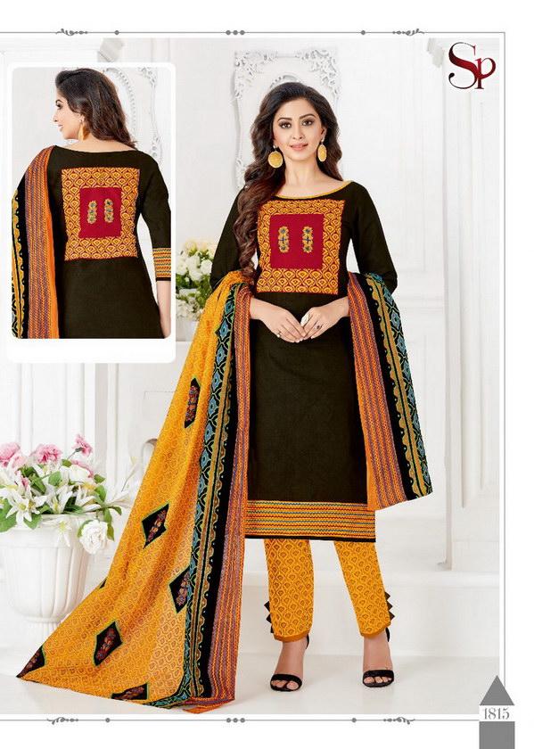 SP Drishti vol 18 Cotton Printed Dress Material catalog
