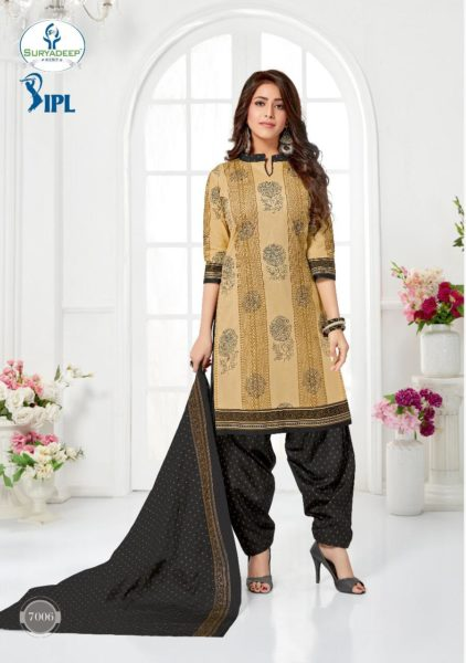 IPL vol 7 Cotton print Dress Materials wholesaler