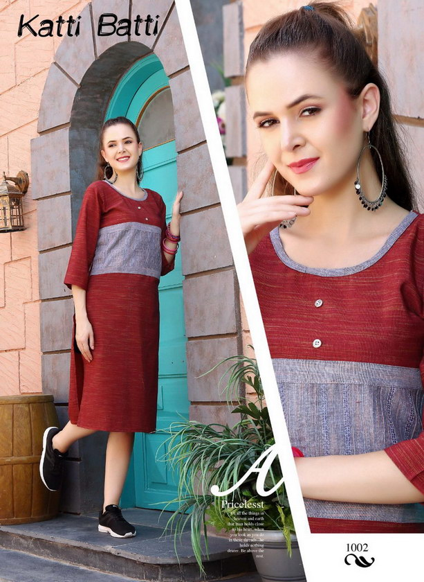 Katti Batti office wear Kurtis Manufacturers