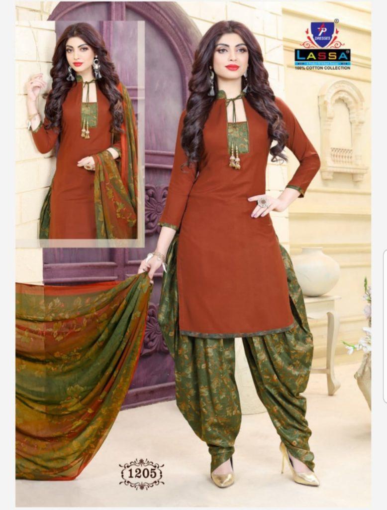Meera Patiyala vol 12 Cotton Dress Materials wholesalers