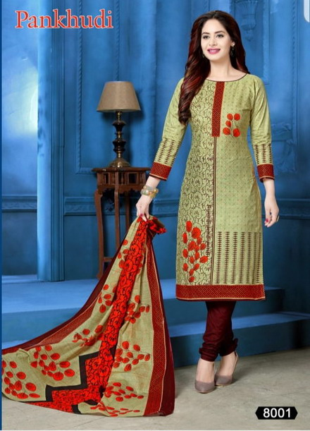 Pankhudi vol 8 Cotton Print Salwar Suits wholesalers