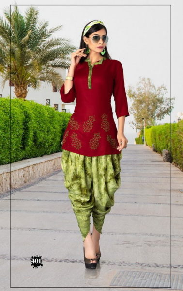Sakhi Bindiya vol 3 Tops with Dhoti Manufacturer
