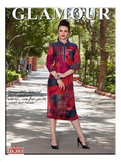 Sakhi Rishi Fancy Reyon Kurtis Manufacturers