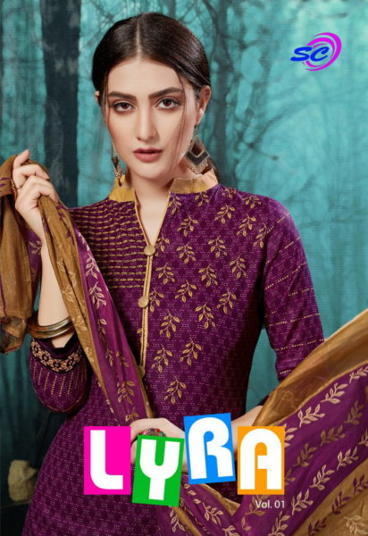 Lyra vol 10 Cotton Print Dress Materials Wholesalers