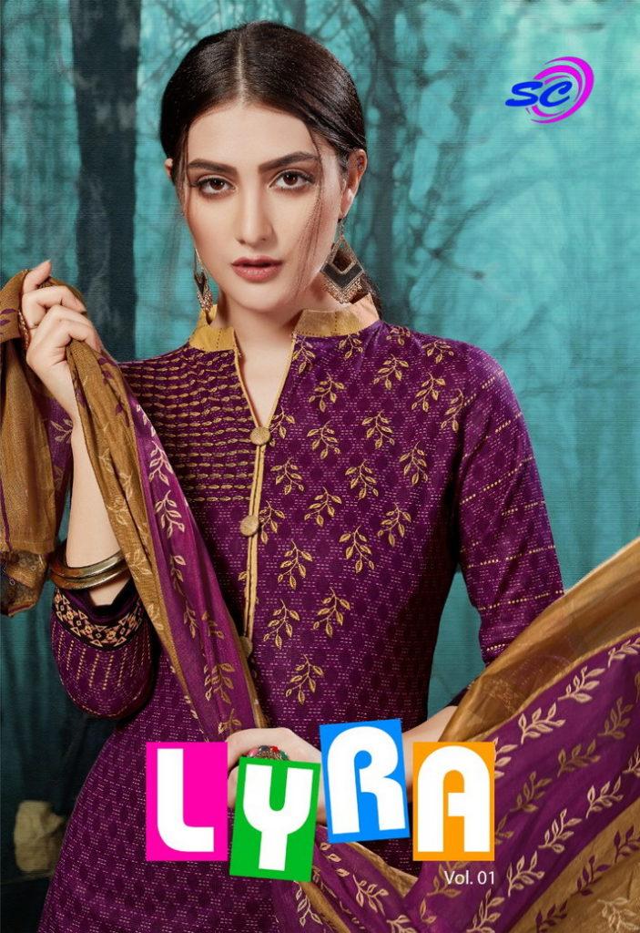 Lyra vol 10 Cotton Print Dress Materials Wholesalers