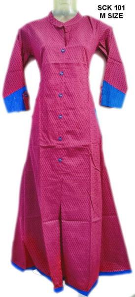 Sakhi Cotton Kurtis Manufacturer SCK 101