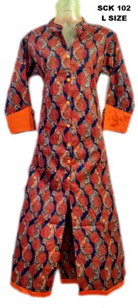 Sakhi Cotton Kurtis Manufacturer SCK 102