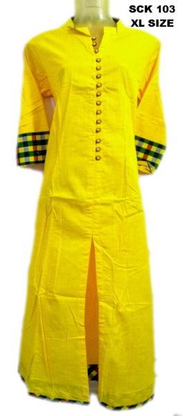 Sakhi Cotton Kurtis Manufacturer SCK 103