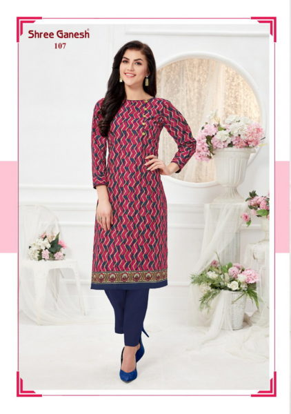 Shree Ganesh Cotton Low Range Kurtis Wholesalers