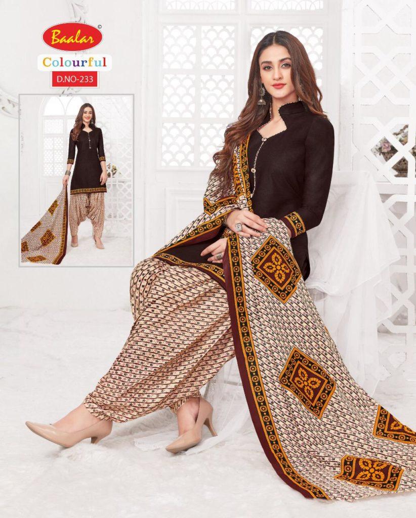 Baalar Colourful vol 2 Readymade Patiyala Salwar Suits Wholesalers