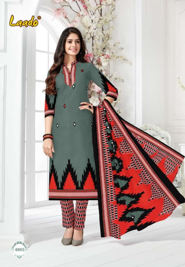 Laado vol 48 cotton printed Dress Materials wholesalers