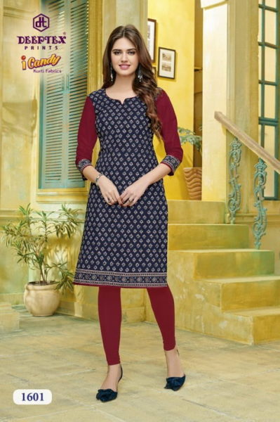 Deeptex Icandy Vol 16 Low range Kurtis Manufacturers