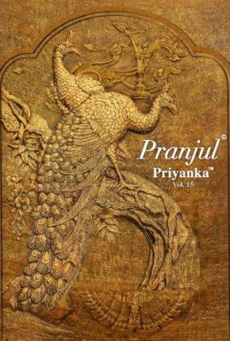 Pranjul Priyanka vol 15 Cotton Print Dress Materials