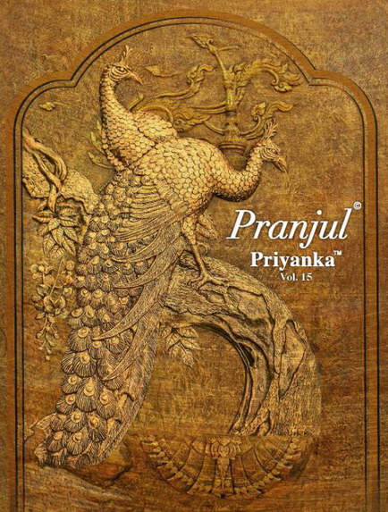 Pranjul Priyanka vol 15 Cotton Print Dress Materials