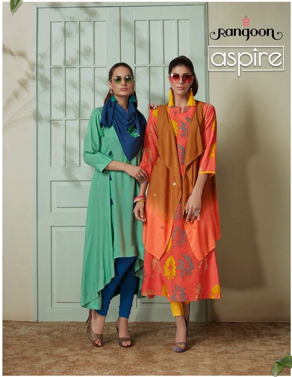 Rangoon Aspire Western Long Kurtis wholesaler