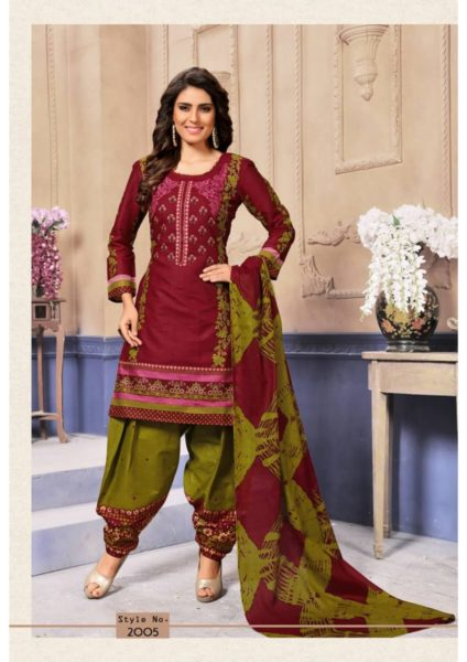 Rani Patiyala vol 2 Cotton Print Dress Materials Wholesalers