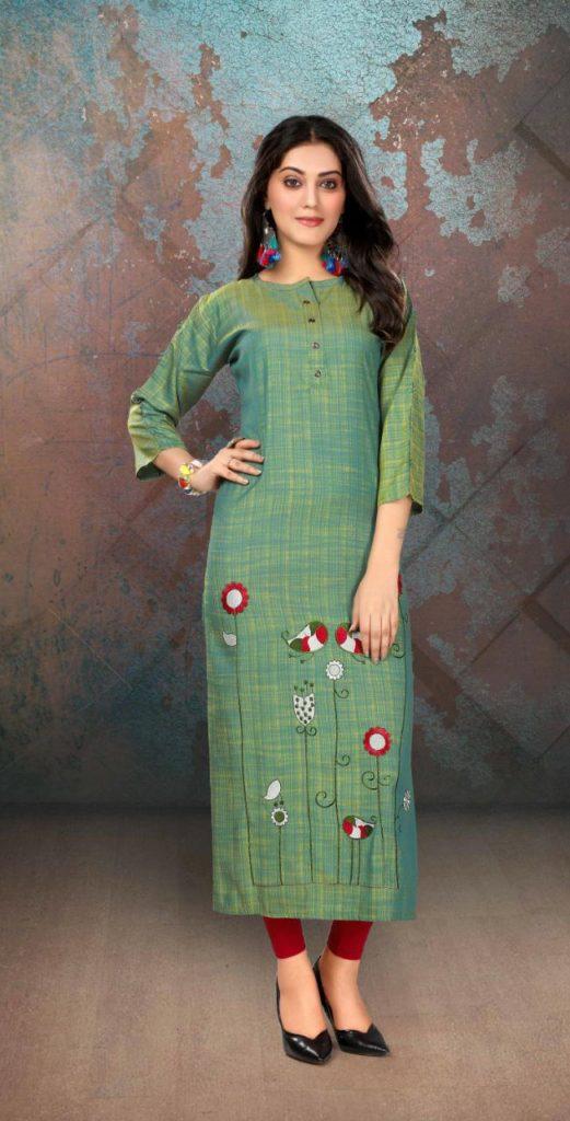 Sakhi Katrina Long Kurtis Manufacturer wholesaler