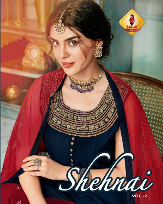 Shruti Shehnai vol 2 Party wear Kurtis wholesalers