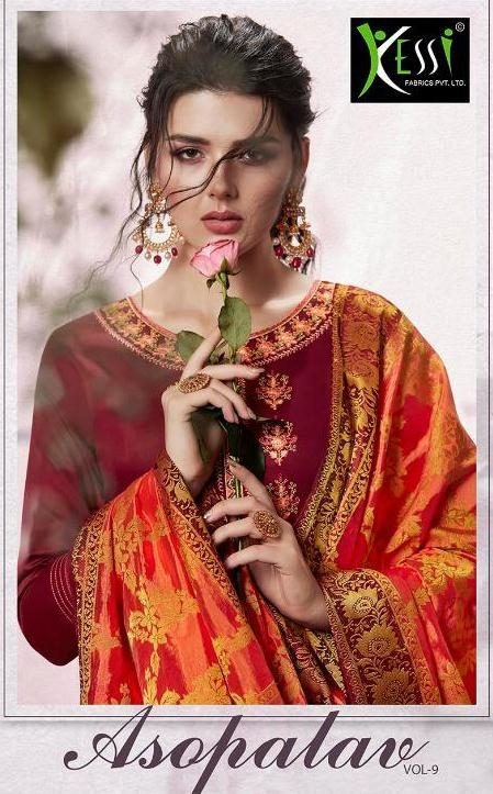 Kessi Asopalav vol 9 jam silk suit Wholesalers
